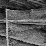Sleeping quarters for the inmates, often 5 and 6 to a cot